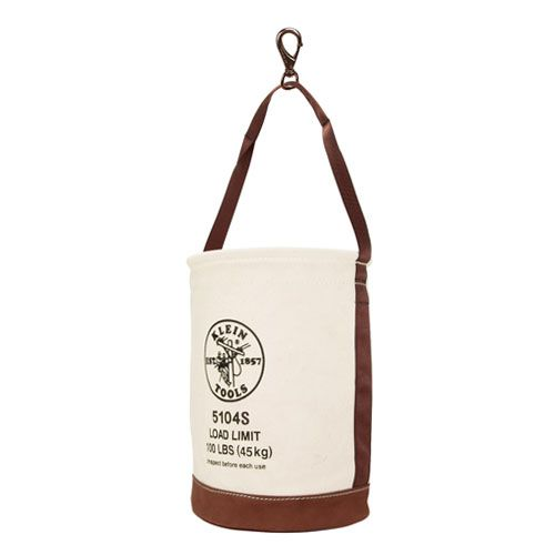 Klein Leather-Bottom Hoist Bucket - #5104S
