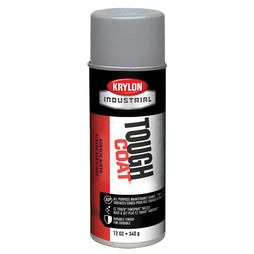 Krylon Aluminum 12 oz Tough Coat Industrial Paint - Full Box