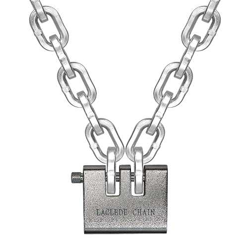 "Laclede 3/8"" (10mm) ""Lockdown"" Security Chain Kit - 8 ft Chain & Padlock"