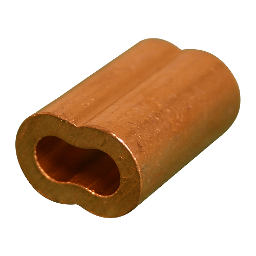 "3/32"" Copper Oval Swage Sleeve"