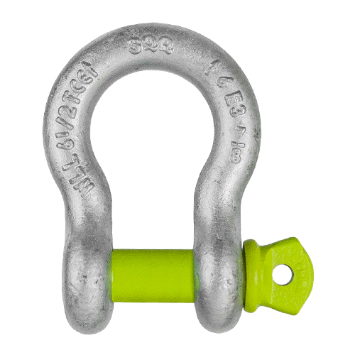 "5/16"" Screw Pin Anchor Shackle - 3/4 Ton WLL"