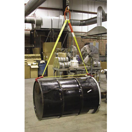 "Lift-All 1"" Horizontal Drum Handling Sling - 1500 lbs WLL"