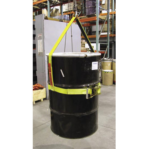 "Lift-All 2"" x 30"" Vertical Drum Handling Sling - 850 lbs WLL"