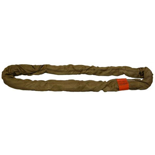 Lift-All Brown 18 ft Endless Tuflex Round Sling - 53000 lbs WLL