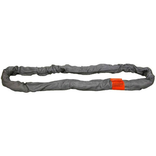 Lift-All Gray 4 ft Endless Tuflex Round Sling - 31000 lbs WLL