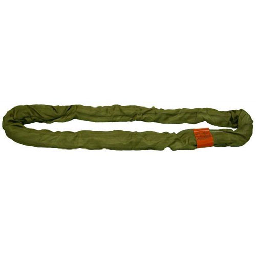 Lift-All Olive 12 ft Endless Tuflex Round Sling - 66000 lbs WLL