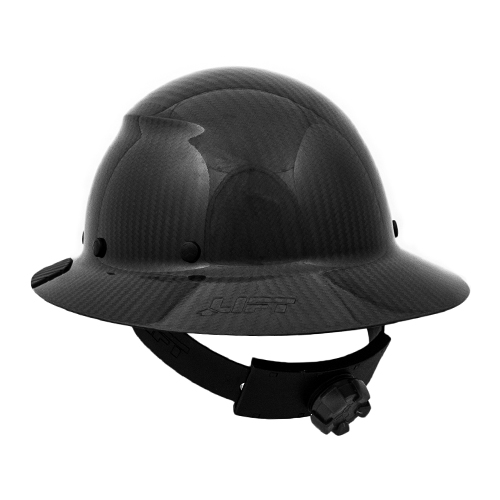 6e48069ffd6 Lift Safety DAX Carbon Fiber Hard Hat - Black -  HDC-15KG