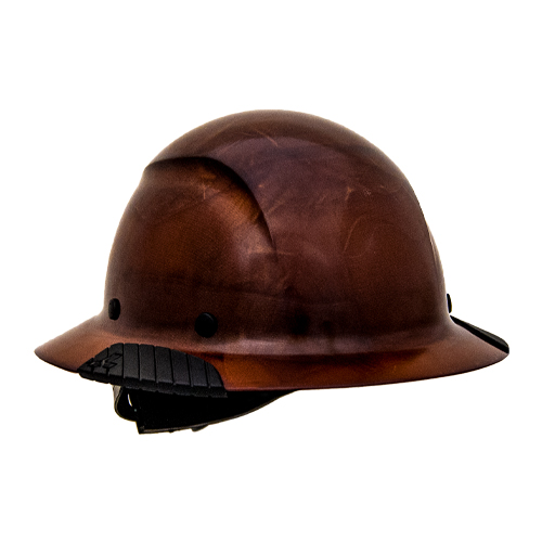 f8d64b1e9e6 Lift Safety DAX Fiber-Reinforced Hard Hat - Natural Brown -  HDF-15NG