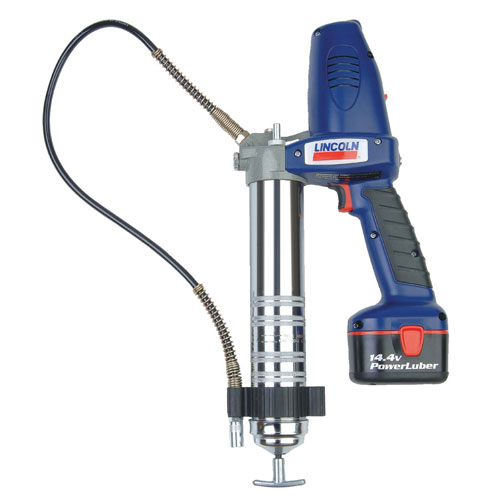 Lincoln 14.4V PowerLuber Battery Operated Grease Gun Kit
