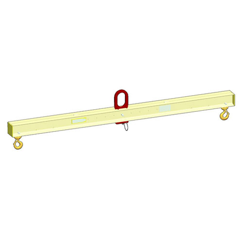 M&W 7-1/2 Ton x 4 - 6 ft Adjustable Lifting Beam - #16420