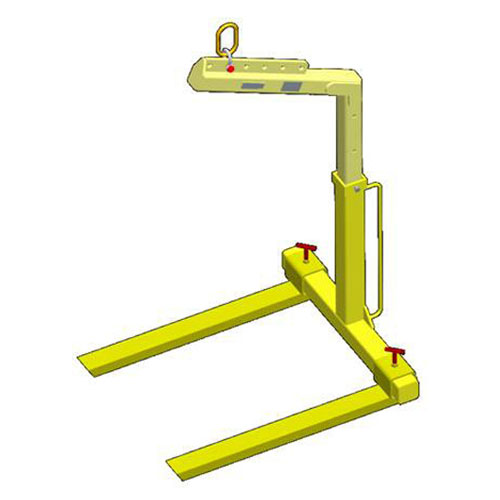 M&W Fully Adjustable Pallet Lifter - 4000 lbs WLL - #12412