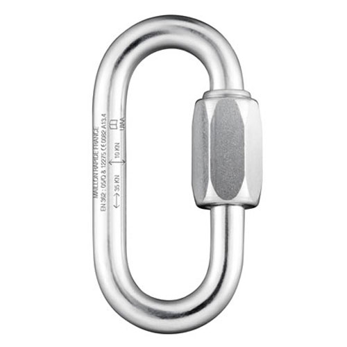 Maillon Rapide 10 mm PPE Rated Zinc-Plated Quick Link - 55 kN MBS