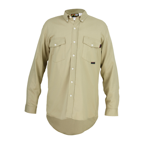MCR Flame Resistant (FR) Tan Work Shirt