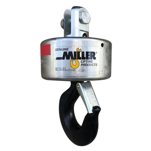 """Miller 125 g-Link Overhaul Ball - 1.5 Ton WLL - 3/8"""" Wire Rope"""