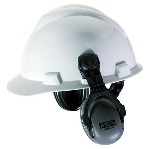 MSA HPE Cap-Mounted Ear Muffs - NRR 27 dB - #10061272