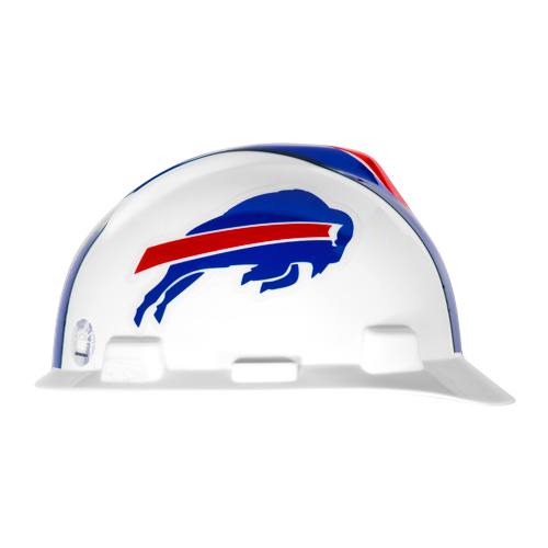 MSA V-Gard Cap Style NFL Team Hard Hat - Buffalo Bills - #818387