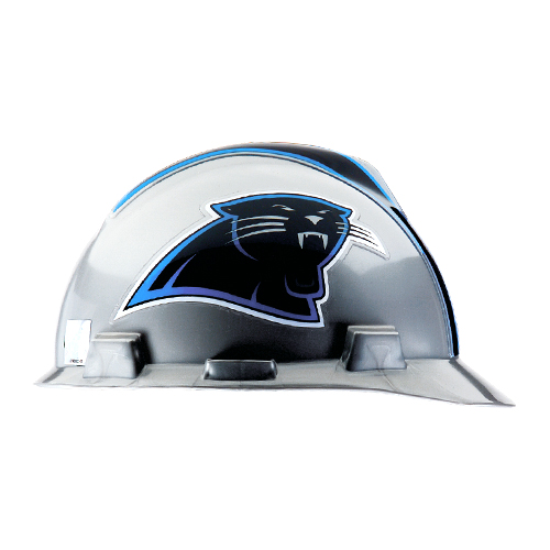 MSA V-Gard Cap Style NFL Team Hard Hat - Carolina Panthers - #818388