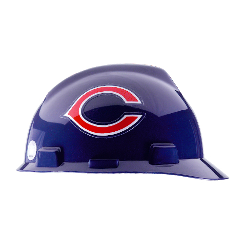 MSA V-Gard Cap Style NFL Team Hard Hat - Chicago Bears - #818389