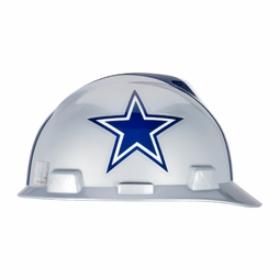 ca9bae11c MSA V-Gard Cap Style NFL Team Hard Hat - Dallas Cowboys - #818392