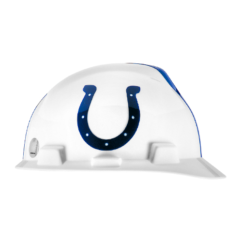 MSA V-Gard Cap Style NFL Team Hard Hat - Indianapolis Colts - #818396
