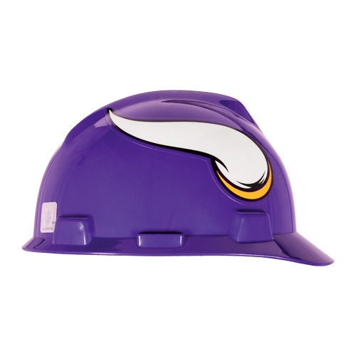 MSA V-Gard Cap Style NFL Team Hard Hat - Minnesota Vikings - #818400