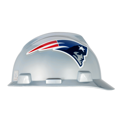 MSA V-Gard Cap Style NFL Team Hard Hat - New England Patriots - #818401