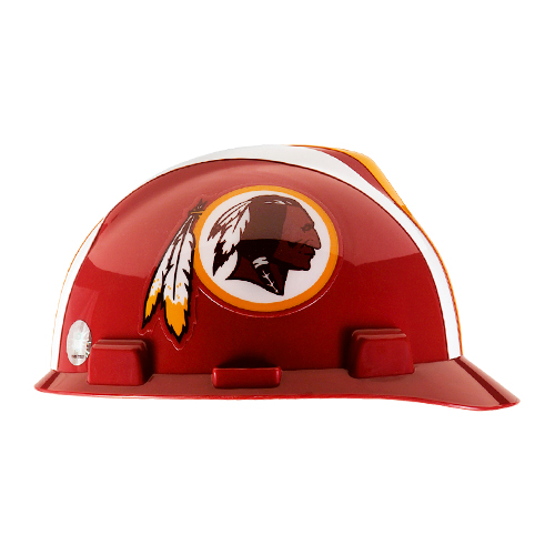 MSA V-Gard Cap Style NFL Team Hard Hat - Washington Redskins - #818414