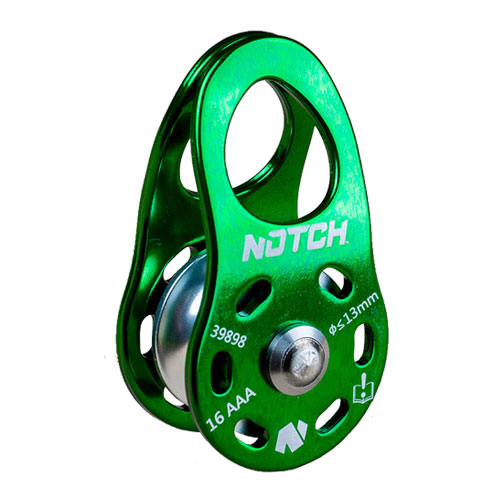 """Notch Micro Pulley CE - 1/2"""" Rope - #50019"""