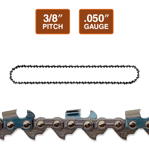 "Oregon 72EXL 3/8"" Super Guard Chainsaw Chain 