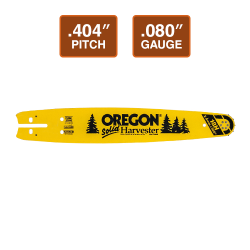 "Oregon 64 cm Solid Sprocket-Nose Harvester Bar | .404"" Pitch 