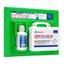 First Aid Only 25 Person First Aid Kit + Eye Wash