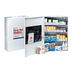Pac-Kit Metal Four Shelf First Aid Kit