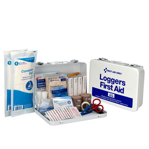 Pac-Kit Metal Logger First Aid Kit