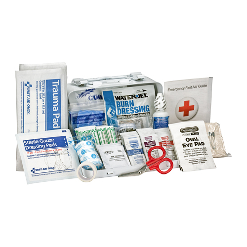 First Aid Only Metal Weatherproof 10 Person First Aid Kit