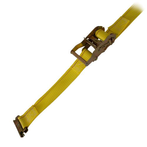 """PCC 2"""" x 12 ft Ratchet Strap - Spring E Fittings - 1000 lbs WLL"""