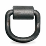 """PCC 5/8"""" Forged Bent D-Ring & Weld-on Clip - 6300 lbs WLL"""