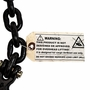 "Peerless 3/8"" x 20 ft Grade 80 Tie Down Chain - 7100 lbs WLL - #H3334-5624"