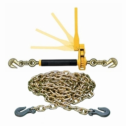 "Peerless QuikBinder + 3/8"" Domestic Grade 70 Tie Down Chain"