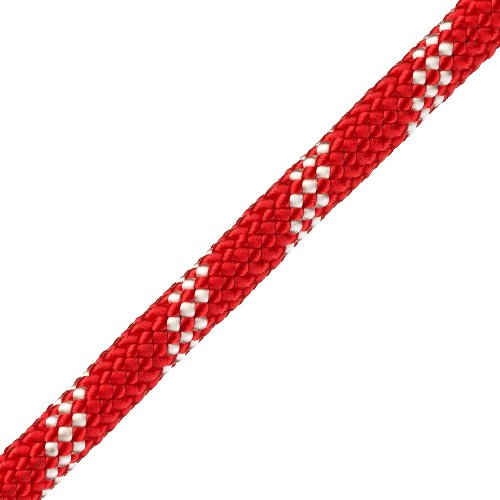 "Pelican 3/8"" Red Static Master Kernmantle Rappelling Rope - 5897 lbs Breaking Strength"