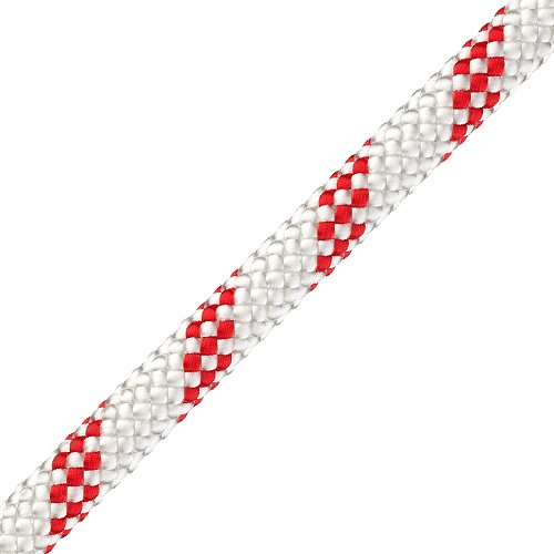 "Pelican 3/8"" White Static Master Kernmantle Rappelling Rope - 5897 lbs Breaking Strength"
