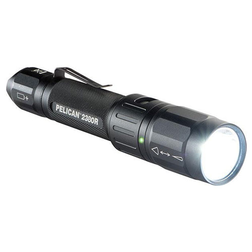 Pelican 2380R Rechargeable LED Tactical Flashlight