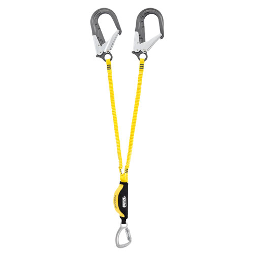 Petzl Absorbica-Y Double Leg Lanyard - 4.92 ft (150 cm) - #L64YUM 150