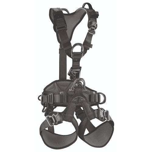 Petzl Astro Bod Fast Black Work & Rescue Harness - Size 2 - #C083BA05