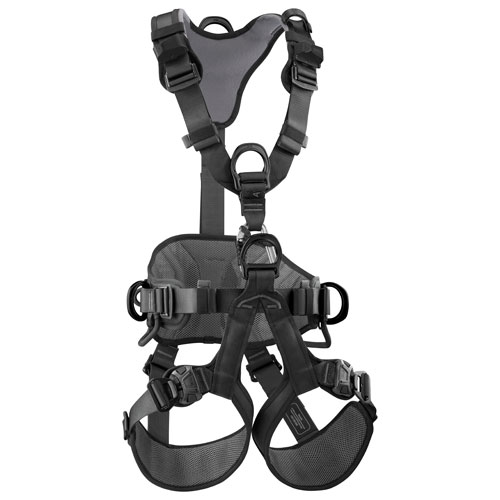 Petzl Avao Bod Fast Black Work & Rescue Harness - Size 0 - #C071DA03