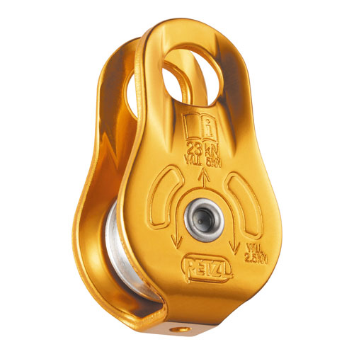 "Petzl Fixe Micro Pulley - 1/2"" Rope - #P05W"