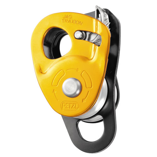 "Petzl Jag Traxion Double Sheave Pulley - 7/16"" Rope - #P54"