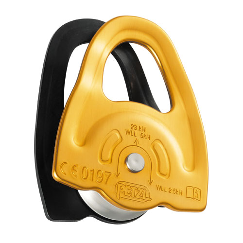 """Petzl Mini Micro Pulley - 7/16"""" Rope - #P59A"""