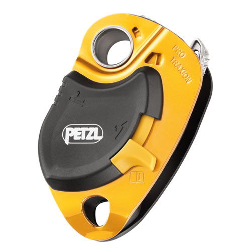 """Petzl Pro Traxion Pulley - 1/2"""" Rope - #P51A"""