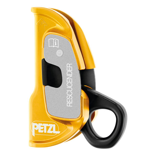 "Petzl Rescucender Rope Clamp - 3/8"" - 1/2"" - #B50A"