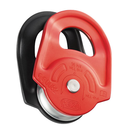 "Petzl RESCUE Pulley - 1/2"" Rope - #P50A"